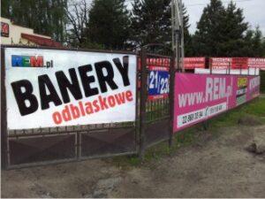 Drukowanie banerów odblaskowych Warszawa