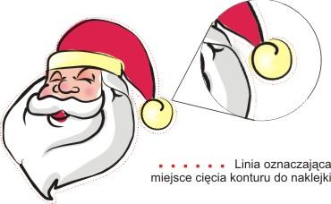 REM.pl - druk naklejek świątecznych. Naklejki na święta.
