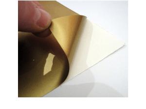Nakljki z folii srebrnej lub złotej matowej