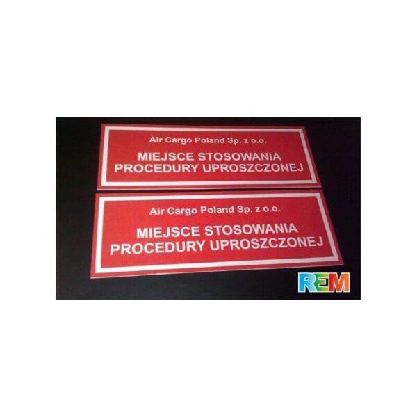 Szyld, tablica reklamowa