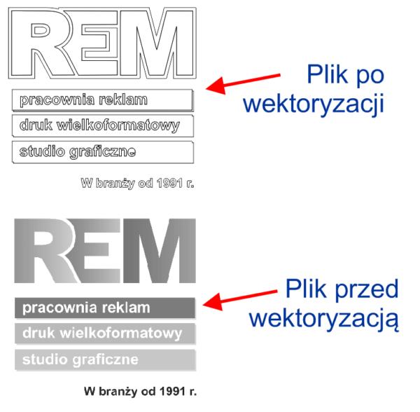 Jak szybko zwektoryzować plik, www.rem.pl