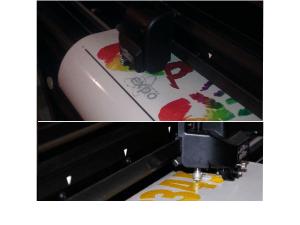 Komputerowe wycinanie liter i grafiki z folii