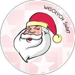 Naklejki, Boże Narodzenie, druk naklejek światecznych